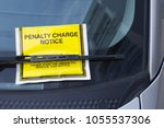 Small photo of Penalty Charge Notice on Windscreen