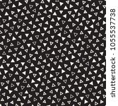seamless primitive jumble... | Shutterstock .eps vector #1055537738