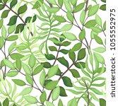 vector seamless pattern of... | Shutterstock .eps vector #1055552975