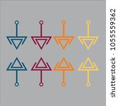 business infographic.vector... | Shutterstock .eps vector #1055559362