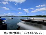 pak bara district  satun... | Shutterstock . vector #1055570792