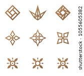 geometric logo template for...