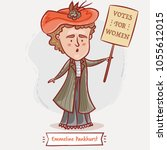 Emmeline Pankhurst  With A...