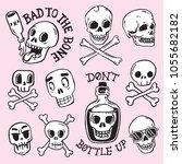 A Collection Of Cartoon Skulls...