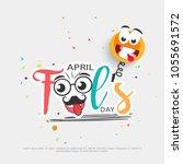 illustration of celebrating... | Shutterstock .eps vector #1055691572