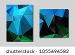 light blue  greenvector cover...