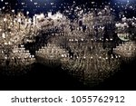 Abstract Shining Light With...