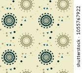 strange space pathways seamless ... | Shutterstock .eps vector #1055767922