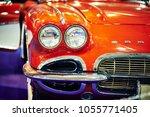 moscow   mar 09  2018 ... | Shutterstock . vector #1055771405