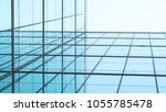 architecture of geometry at... | Shutterstock . vector #1055785478