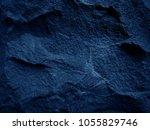 dark blue black slate... | Shutterstock . vector #1055829746