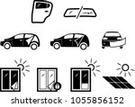 solar and automotive service.... | Shutterstock .eps vector #1055856152