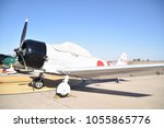 "Small photo of Luke Air Force Base, Arizona. U.S.A. March 17, 2018. Air show exhibit. Mitsubishi A6M2 ""Zero"" replicas made for TORA TORA TORA Hollywood 1970 movie. Each replica is airworthy."