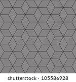 monochrome geometric seamless... | Shutterstock .eps vector #105586928