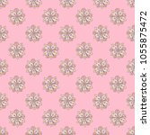 elegant seamless vector pattern ... | Shutterstock .eps vector #1055875472