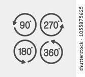 turn flat vector icons | Shutterstock .eps vector #1055875625