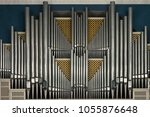 A Pipe Organ In The Concert...