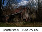 A Decaying Barn In A Rural Are...