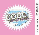 patch fashion denim | Shutterstock .eps vector #1055907656