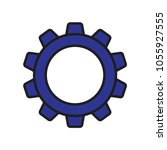 gears icon vector | Shutterstock .eps vector #1055927555