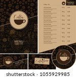 vector set of design elements... | Shutterstock .eps vector #1055929985