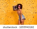 let's make some noise  i'm club ... | Shutterstock . vector #1055943182