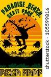 skateboarding   Shutterstock .eps vector #105599816