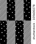 cool fashion textile design | Shutterstock . vector #105600278