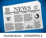 spanish business and economy on ... | Shutterstock .eps vector #1056009812