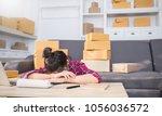 startup small business... | Shutterstock . vector #1056036572