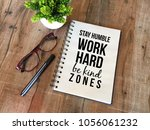 motivational quotes for daily... | Shutterstock . vector #1056061232