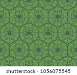 modern decorative geometric... | Shutterstock .eps vector #1056075545