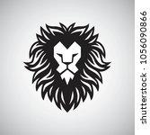 lion head logo vector...   Shutterstock .eps vector #1056090866