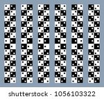 unreal and hypnotic optical... | Shutterstock .eps vector #1056103322