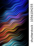 dark multicolor  rainbow... | Shutterstock . vector #1056104255