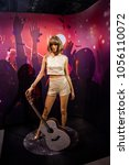 Small photo of Amsterdam, Netherlands - March, 2017: Wax figure of American singer Taylor Alison Swift in Madame Tussauds Wax museum in Amsterdam, Netherlands