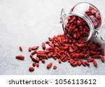 Dry Red Goji Berries For A...