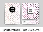 light pink vector template for...