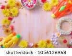 thai traditional jasmine...   Shutterstock . vector #1056126968