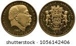 Gabon Gabonese Golden Coin 25...