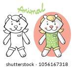 illustration on white... | Shutterstock .eps vector #1056167318