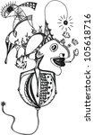 abstract world | Shutterstock .eps vector #105618716