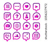 linear gradient chat icons. app ...