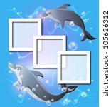 Photo Frames And Pair Dolphins...