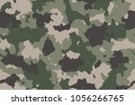 camouflage seamless pattern....   Shutterstock .eps vector #1056266765