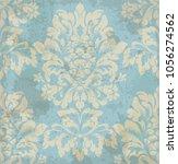 vector damask pattern element.... | Shutterstock .eps vector #1056274562