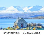 lake tekapo  new zealand   Shutterstock . vector #1056276065