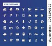 big tourism icon set | Shutterstock .eps vector #1056290522