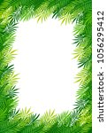 summer tropical background   Shutterstock .eps vector #1056295412