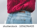 close up body part of woman... | Shutterstock . vector #1056296435